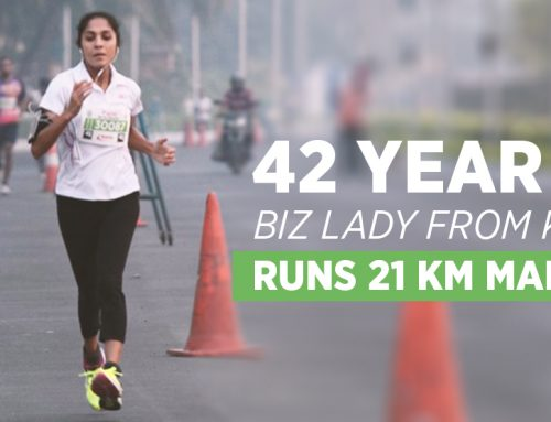 42 Year biz lady runs 21km in marathon and does podium finish