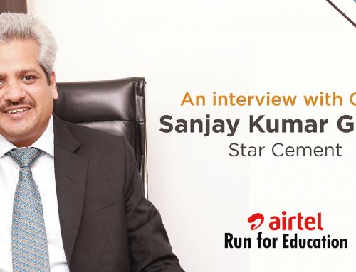 An interview with CEO – Sanjay Kumar Gupta, Star Cement