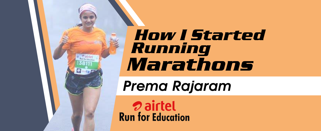 How I Started Running Marathons: Prema Rajaram