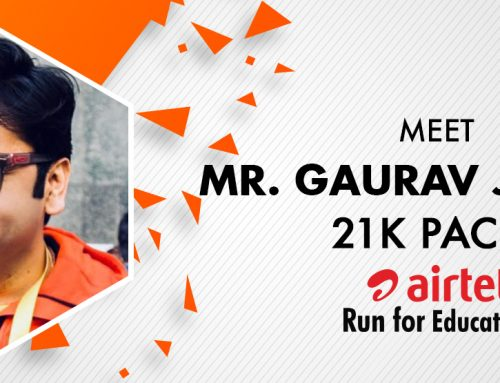 Meet Gaurav Jajodia: 21K Pacer for ARFE 2018
