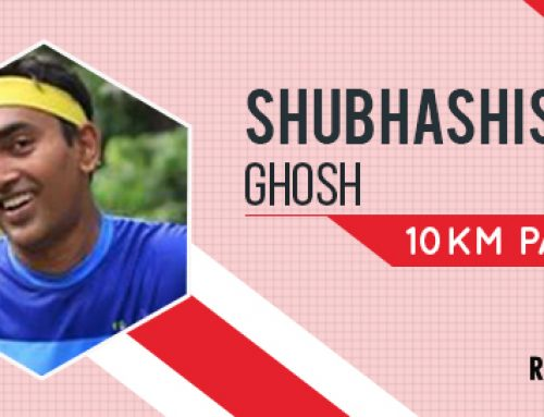 Meet Shubhashis Ghosh: 10K Pacer for ARFE 2018
