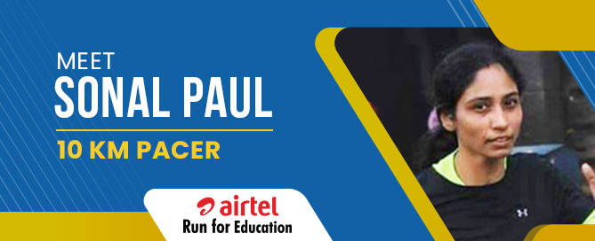 Meet Sonal Paul: 21K Pacer for ARFE 2018