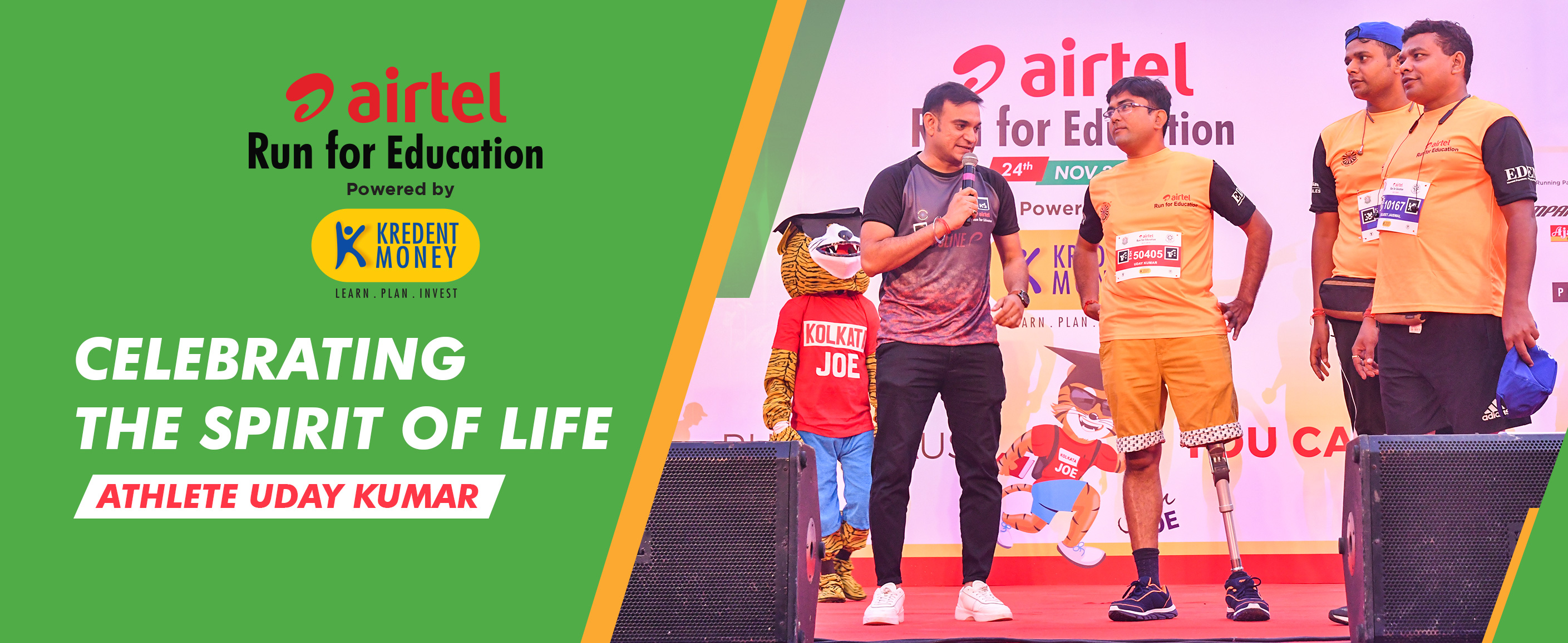 Celebrating The Spirit Of Life With Amputee Athlete Uday Kumar