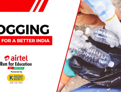 PLOGGING AT AIRTEL RUN FOR EDUCATION 2019 – THE RUN FOR A BETTER INDIA