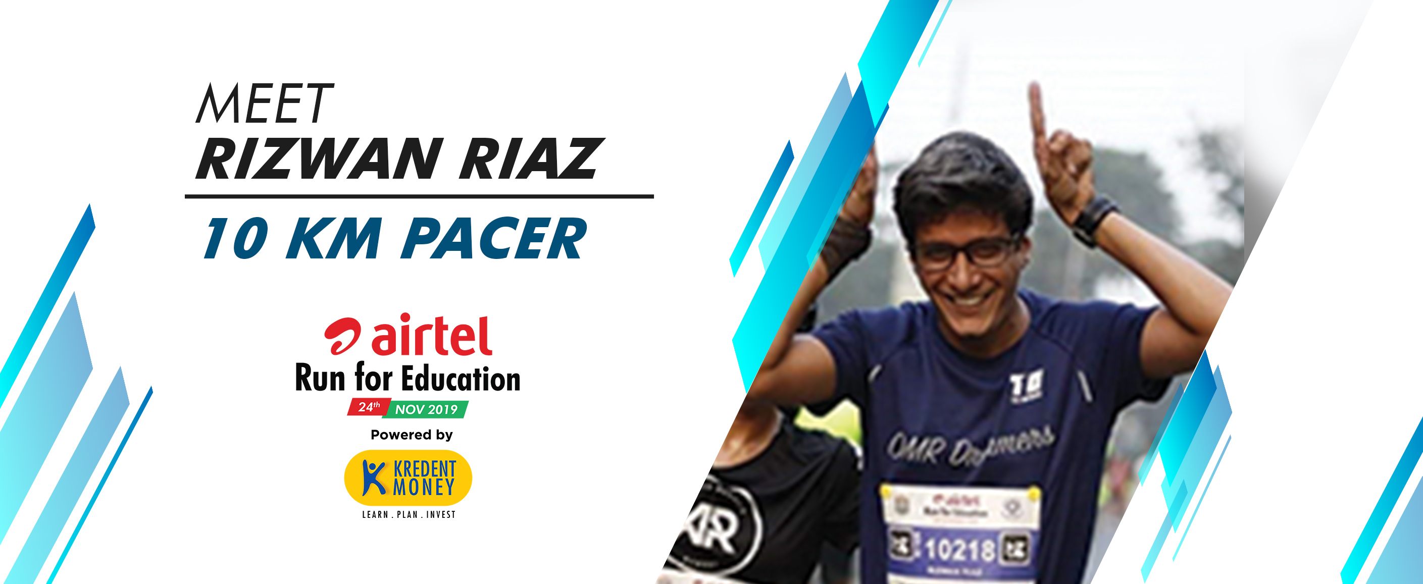 Meet Rizwan Riaz: 10K Pacer for ARFE 2019