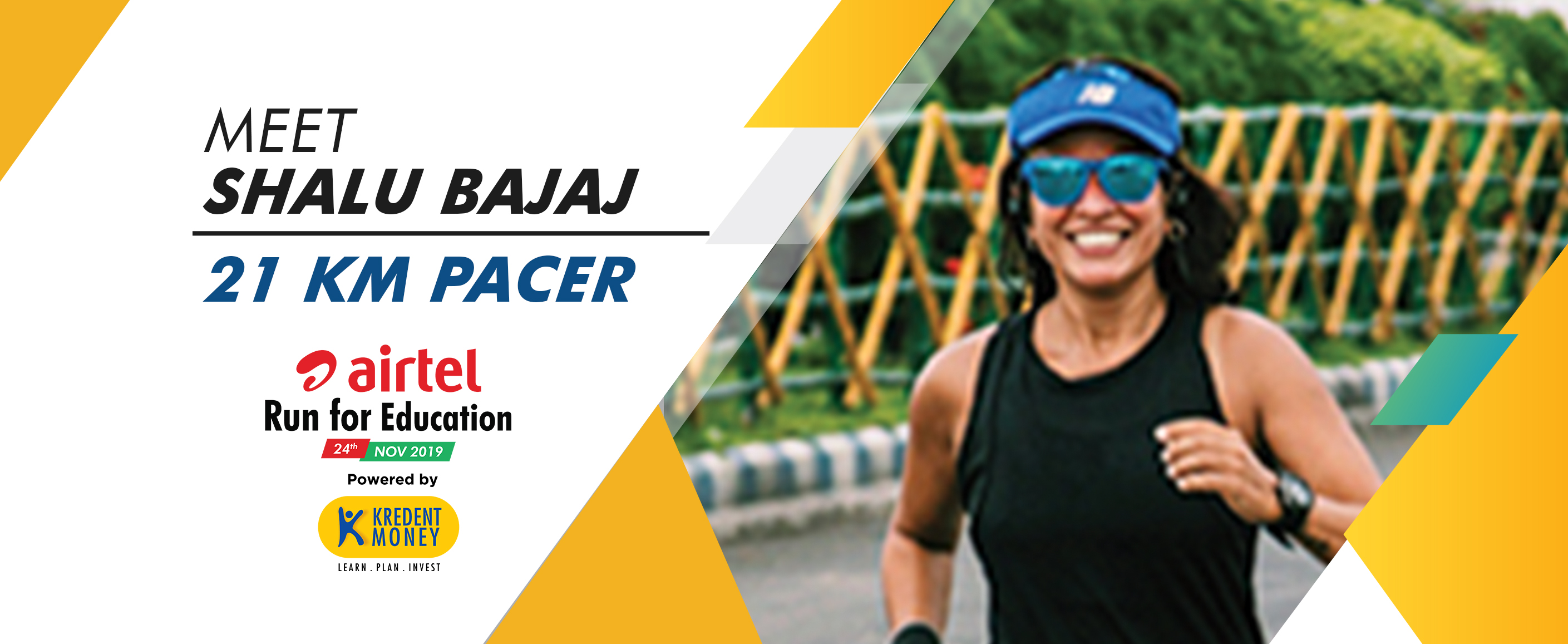 Meet Shalu Bajaj: 21K Pacer for ARFE 2019